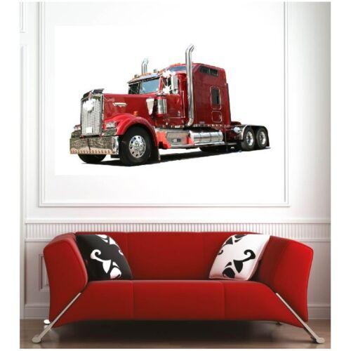 Affiche poster camion poids lourd 1654157