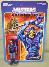"SKELETOR Masters of the Universe ReAction Funko Super7 3.75"" Figure Color"