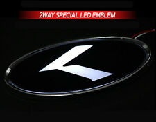 White Red 2Way LED Rear Trunk K Logo Emblem Badge 1EA For 2011+ Kia Optima K5