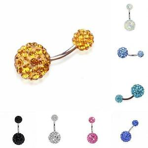 ITS-JT-Navel-Belly-Button-Ring-Barbell-Rhinestone-Crystal-Ball-Piercing-Body-J