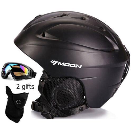 Moon Ski Helmet Integrally-molded Skiing Helmet For Adult and Kids Sport Helmet