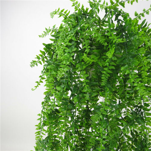 Artificial Leaves Plants Persian Rattan Fake Vine Wall Hanging Home Garden Decor