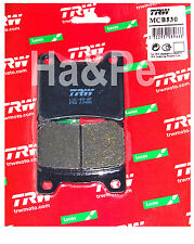 YAMAHA FZR 750 1000-ORIGINALE trw-lucas PASTIGLIE BRAKE PADS mcb530