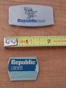 Greens Keeper Zippo Republic Steel and Bonus Emblem Vintage