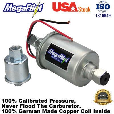 Low Pressure Electric Fuel Pump 12V Gas Diesel Inline pump 5-9PSI HEP-02A E8012S