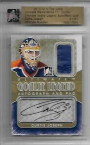11-12-ITG-ULTIMATE-GOALIE-LEGEND-GOLD-AUTOGRAPH-PAD-6-Curtis-Joseph-1-1