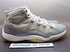 Nike Air Jordan XI 11 Cool Grey Retro 2010 sz 10