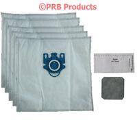 Deluxe Hepa Miele & N Bags 7189520 Canister Vacuum Blue Moon Pisces Capri