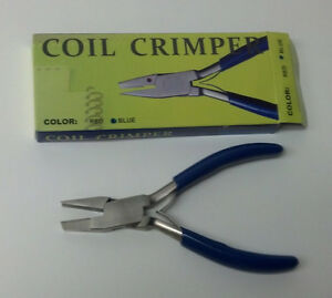 3 Pairs of Coil Crimper Pliers, Cut & Crimp Tool for Plastic Spiral Coil Binding