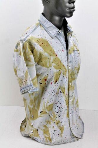 Born Fly S//S Medium Stone Wash Peanut Woven Shirt 1707W2292