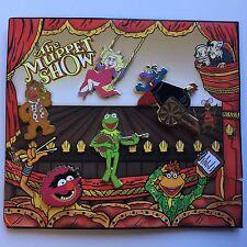 DisneyShopping.com - The Muppet Show Pins & Card Set 5 Pin Set Disney Pin 60771