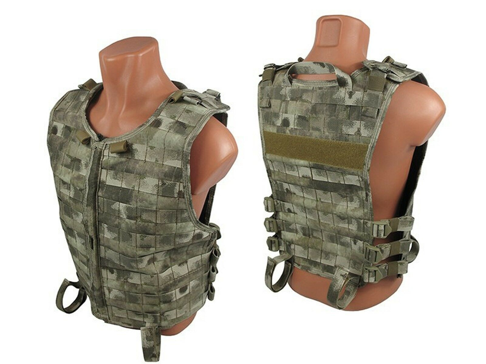 Tactical Vest Armee Paintball Airsoft Brust Rig Molly Kumpels Atacs au