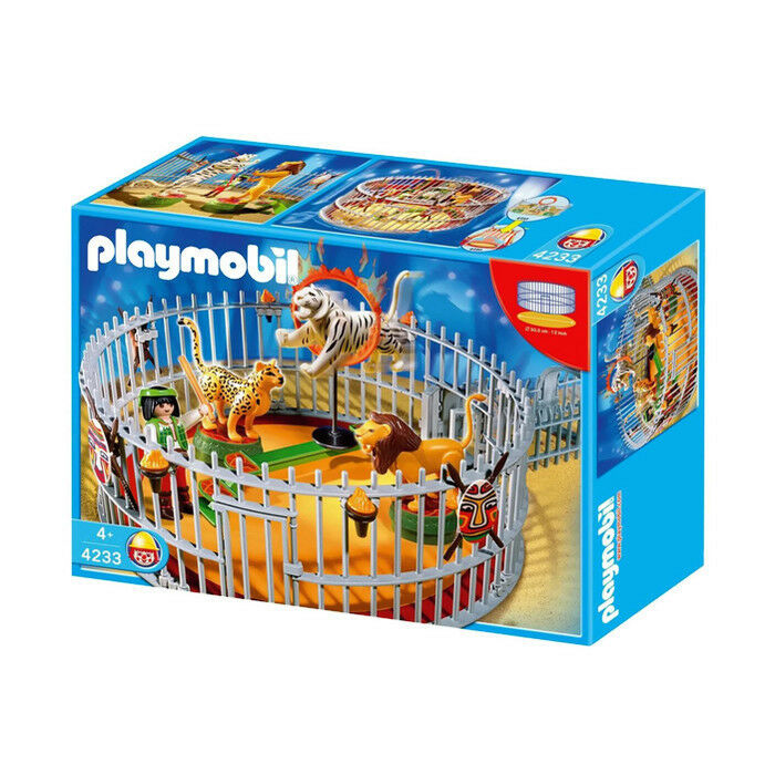 Playmobil Cirque Animal trainer 4233 PLAYMOBIL Klezmic Circo Tamer ENTRENADOR