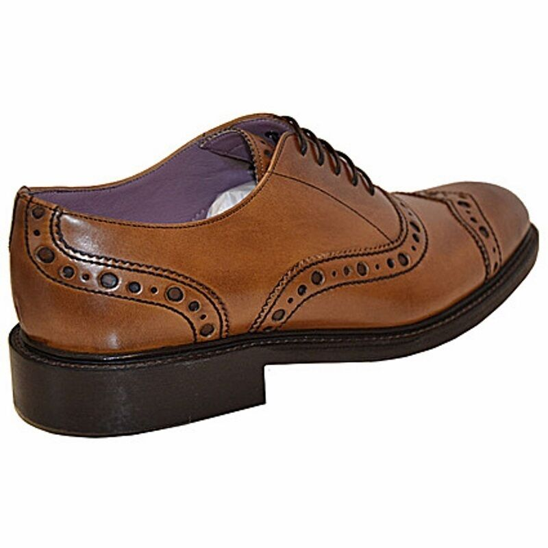 Vivienne Westwood allacciata allacciata allacciata oxford punched, punched oxford lace up cuir 539a2b