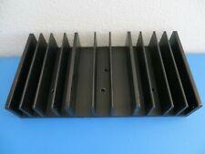 Aluminum Heat Sink Black For Led Power Ic Transistor Module 140 X 74 X 25mm