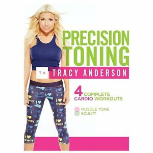 Tracy Anderson: Precision Toning New DVD! Ships Fast!