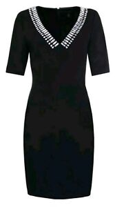 7afe6a3ab Image is loading Ted-Baker-London-Womens-Vickie-Embellished-Sheath-Dress-