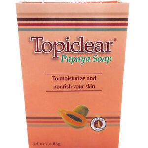 Topiclear-Papaya-Soap-Skin-Moisturizer-Jabon-de-Barra-Hidratante-Humectante-Piel