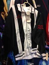 KAPPA JACKET BLACK/WHITE SMALL MED LARGE OFRONTAT£ 22 BNWl  /navy polyester jack