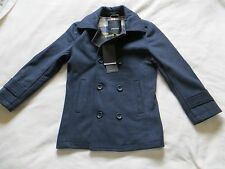 BNWT Boys FERAUD Reefer Navy Blue Double Breasted Coat Jacket Coat Age 7- 8 yrs