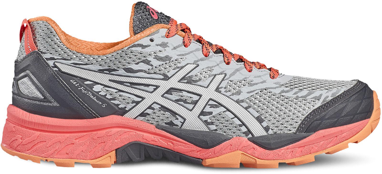Asics Gel FujiTrabuco 5 Damenschuhe Trail Running Schuhes - Grau