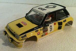 Qq Spirit Renault 5 Turbo R Montecarlo '81 # 9 Ragnottti Kinderrennbahnen andrie Karosserie Products Hot Sale Elektrisches Spielzeug