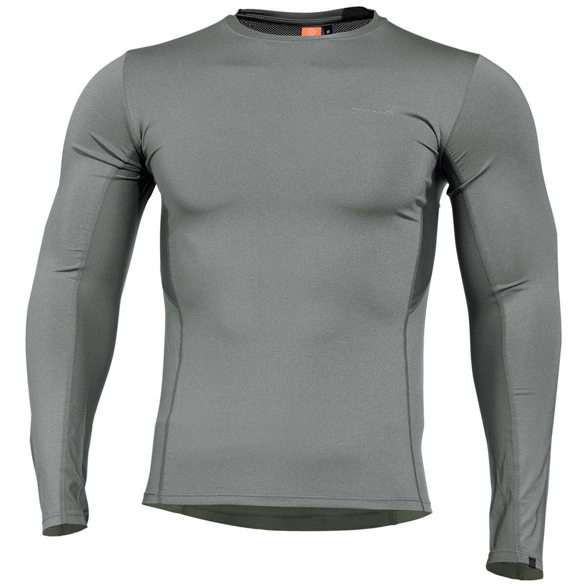 Pentagon Apollo Tac Fresh Activity Shirt Mens Base Layer Long Sleeve Wolf Grey