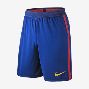 buy online 35807 8e8e0 Details about NIKE FC BARCELONA VAPOR MATCH HOME SHORT 2016/17.