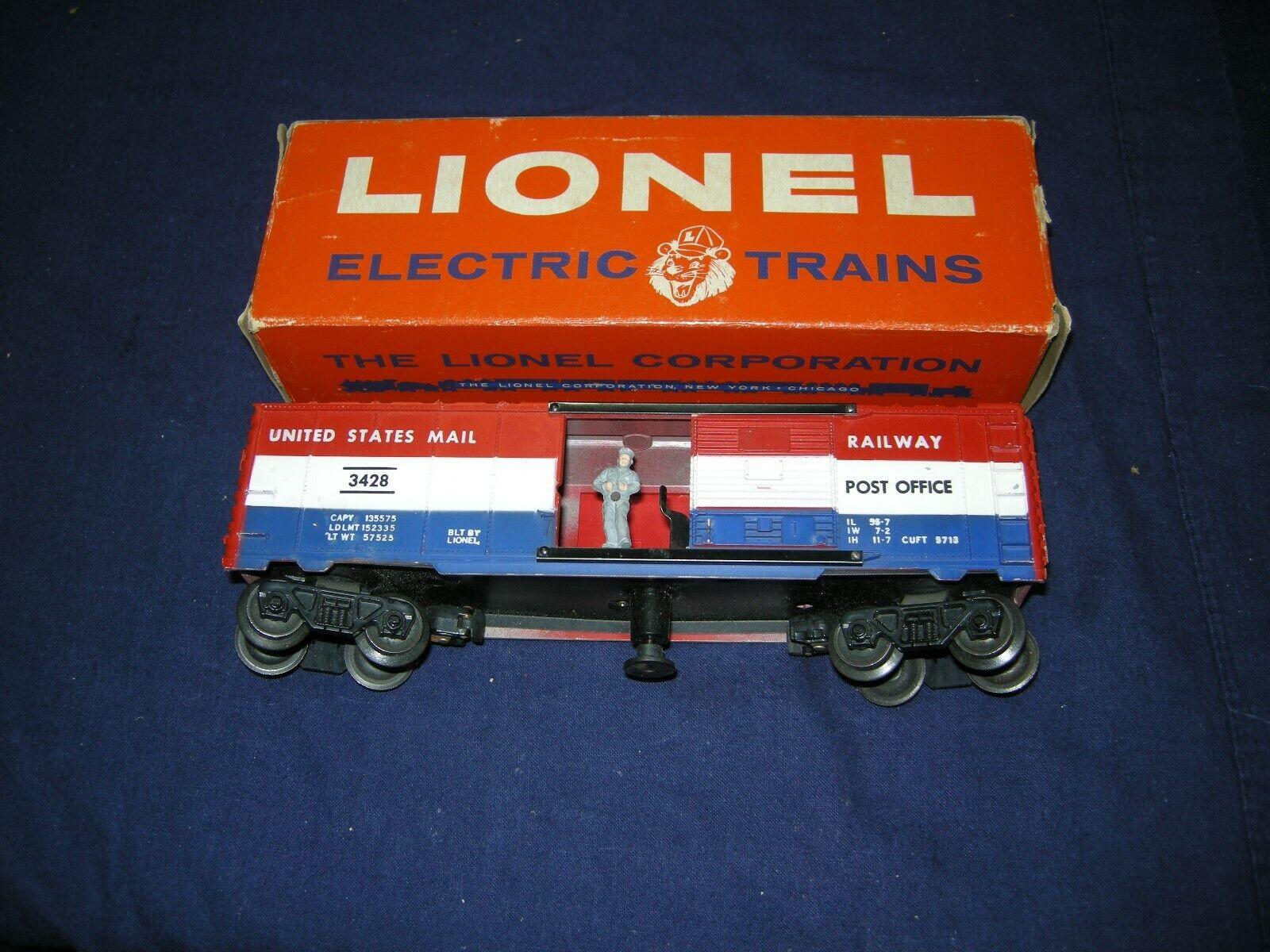 LIONEL 3494 OPERATING PA CAR E+ OB