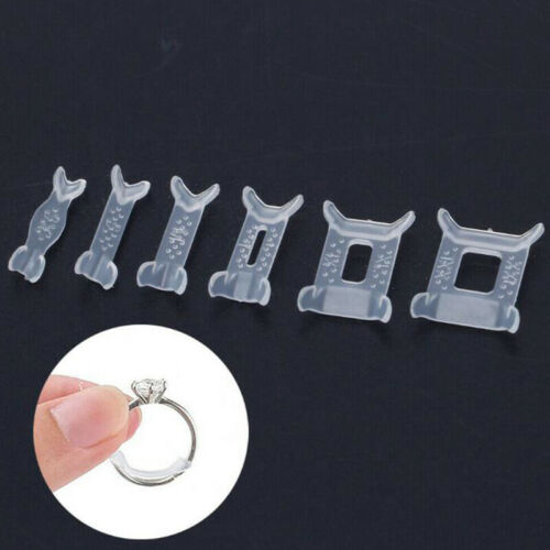 12x Invisible Ring Size Adjuster for Loose Ring Size Reducer Spacer Ring Gua ZS