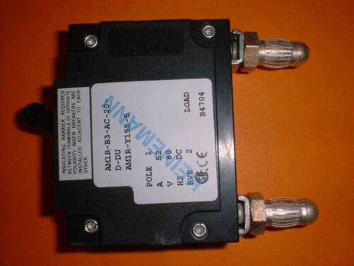 Circuit Breaker 80VDC 52A AIRPAX AM1R Sicherungsautomat