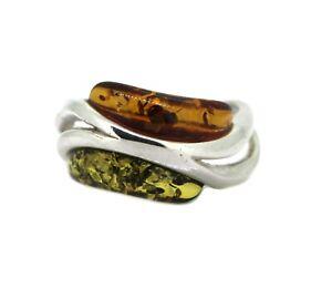 schoener-geschwungener-Ring-925er-Silber-gepresster-Bernstein-2-farbig