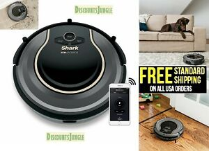 Shark Ion Robot RV750 Vacuum WiFi Alexa Google Carpet Hard Floor Voice Control