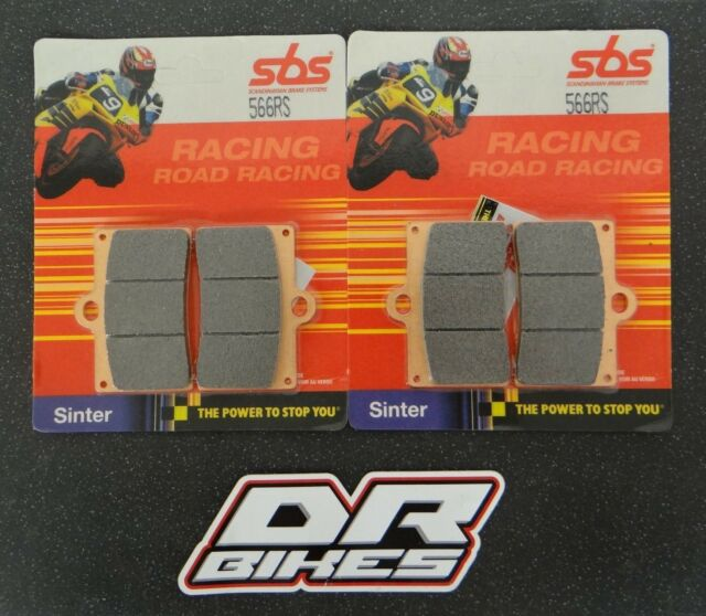 Ducati M 900 Street Monster 1994-1999 SBS Race Sintered Front Brake Pads 566RS
