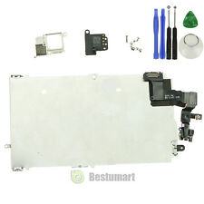 For iPhone 5S LCD Assembly Frame+Camera+Ear Speaker+Screw+Flex Cable New