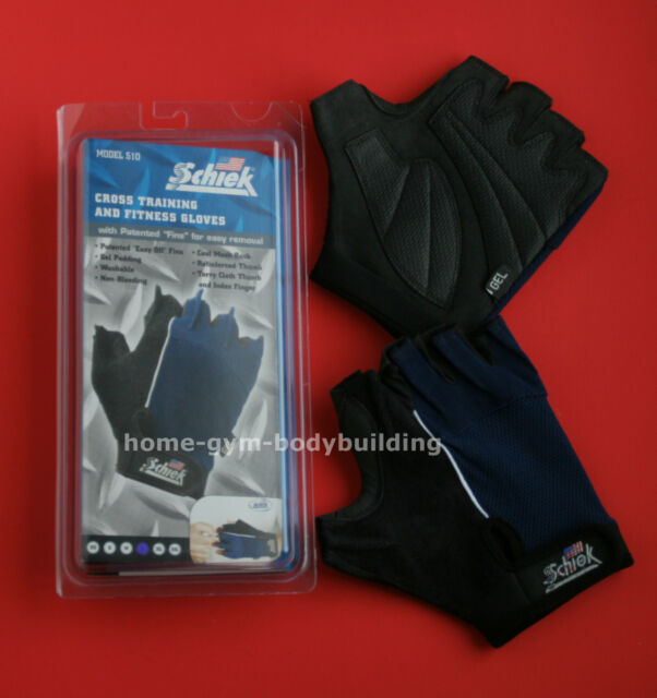 Schiek Model 510 Cross Training Weight Cycling  Unisex Workout Gloves ALL SIZES