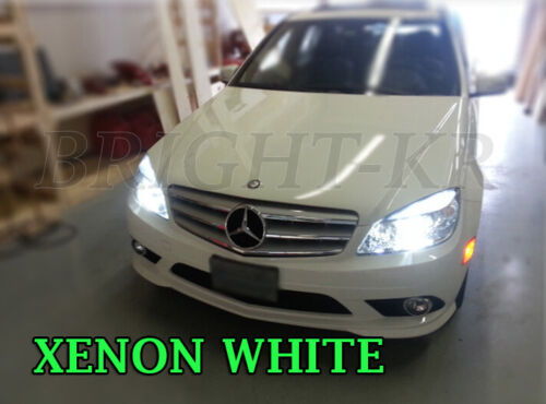 Mercedes Classe C W204 Phare H7 Lampe Ampoules Xenon 6000K Blanc