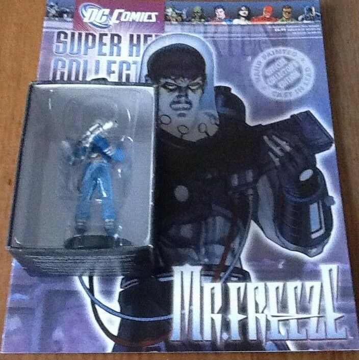 Dc Figurine Collection ISSUE 58 Mr Freeze