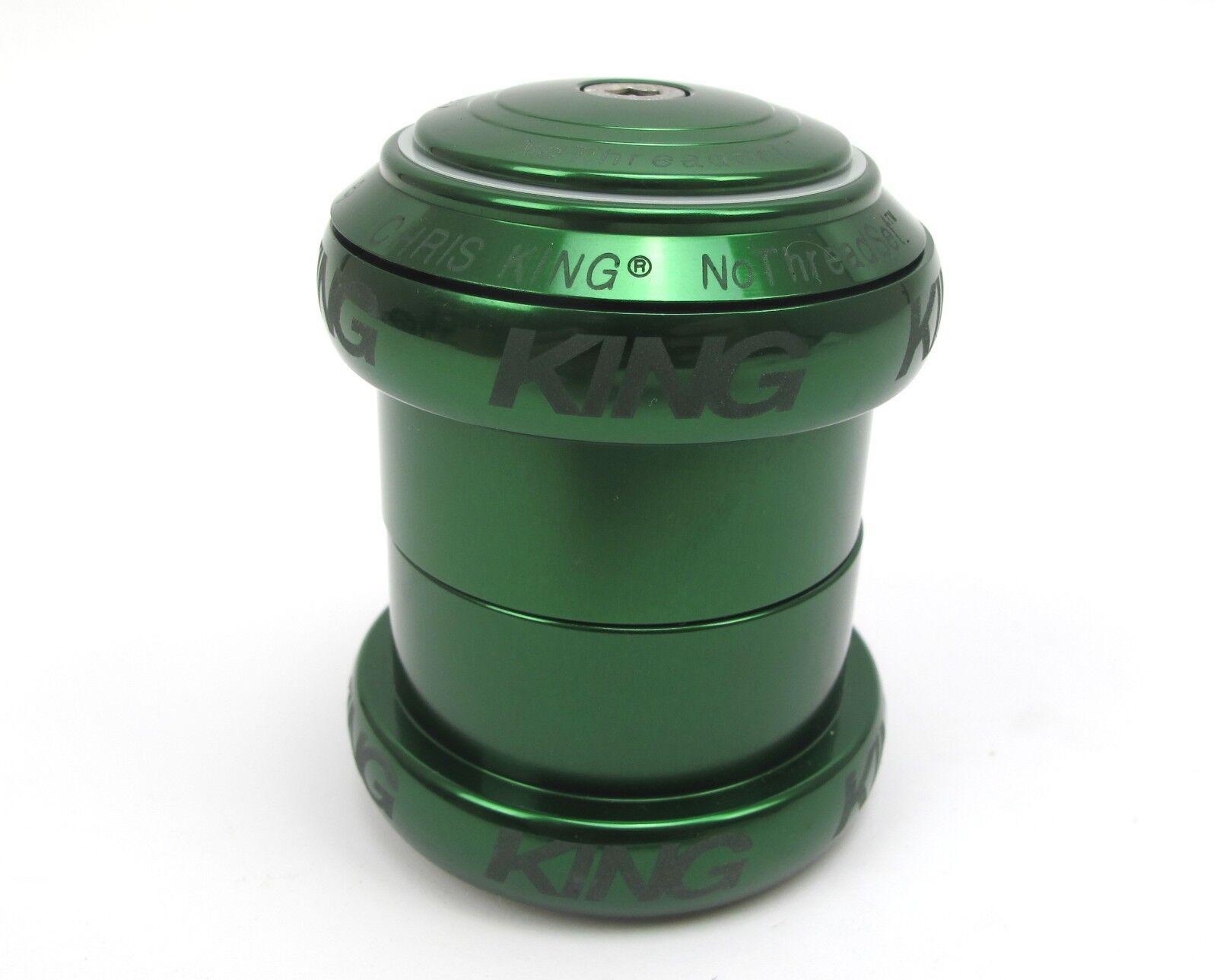 Chris King 1.5  nothreadset verde 10 Año De Garantía