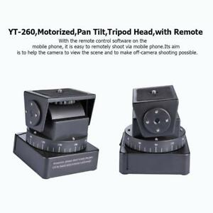 Yt 260 Motorized Pan Tilt Tripod Head W
