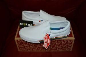 New-Vans-Slip-On-Rainbow-Gay-Pride-2019-Classic-Skate-Shoe-Men-039-s-Women-039-s