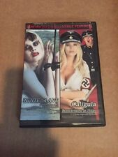 Retro Shock-O-Rama White Slave/Caligula-Reincarnated as Hitler DVD Like New