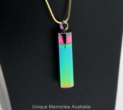 Rainbow Reflections Cylinder Cremation