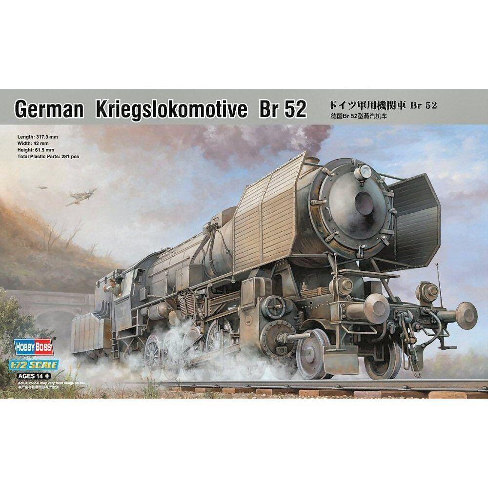 HobbyBoss 82901 German Kriegslokomotive BR52 1 72 scale plastic model kit