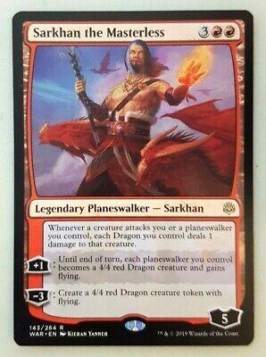 English-Sarkhan the Masterless-War of the Spark MTG-1x-NM-Mint