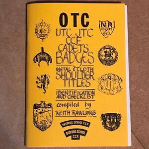 Officers-Training-Corps-OTC-Cap-Badges-amp-Shoulder-Titles-Identification-Booklet