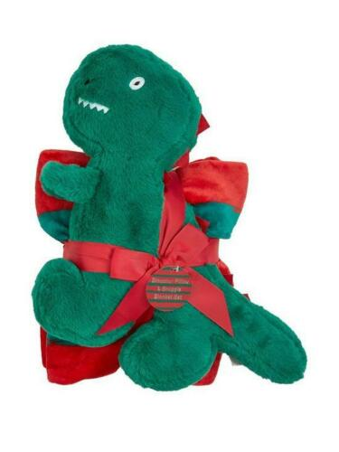 kids Dino soft Blanket and Plush dinosaur  Pillow Giftset,girls boys soft toy