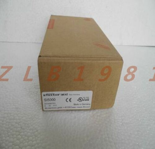 IFM Electronic SI5000 Flow Monitor Sensor ONE NEW