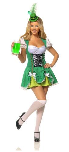 Style M1301 Mystery House St Patricks Day Irish Girl Costume