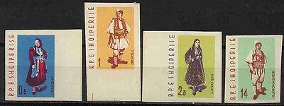 Sinnvoll Albanien 695-698b 10849 Katalognummern Nach Michel-katalo * Nationaltrachten